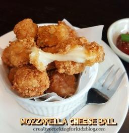 Mozzarella Cheese Balls 😋 มอซซาเรลล่าชีสบอล (ชีสทอด)