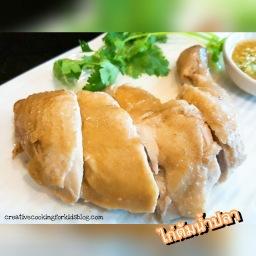 Boiled Chicken with Fish Sauce 🐓 ไก่ต้มน้ำปลา