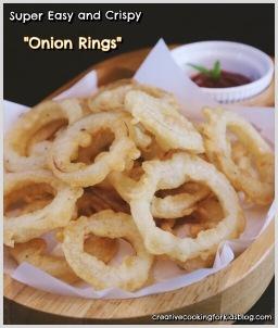 Onion Rings หัวหอมทอด