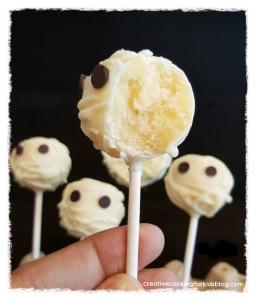 Mummy Cake Pop 👻 มัมมี่เค้กป๊อป